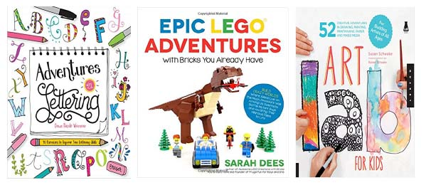 art and creative books for kids gifts