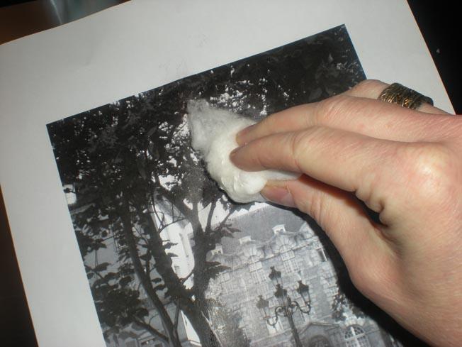Favori Atelier de l'oasis: L'astuce de dessin : le transfert de photos. GF32