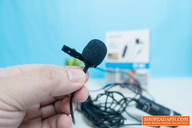 boya by-m1 omnidirectional lavalier microphone review