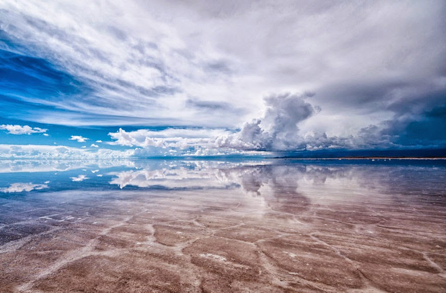 Approaching Storm in the Salar II - Bolivian Paradise I Traveled For 3 Months Through The Land Of Wonders