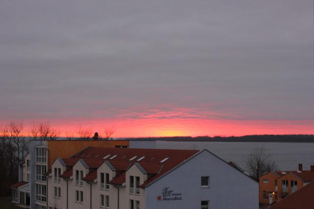 Kurklinik Rerik Sonnenuntergang
