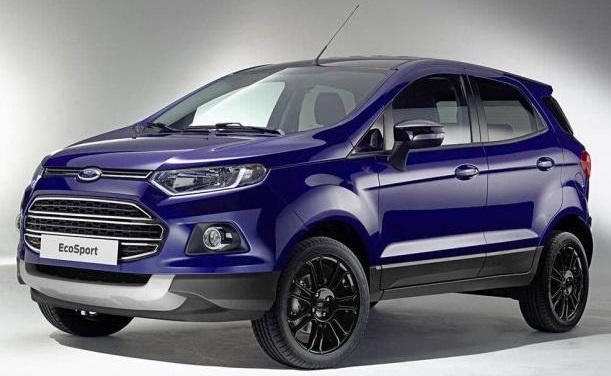 Ford EcoSport 2017 1.5L ra mắt vào tháng 11 năm 2016 tại Brazil