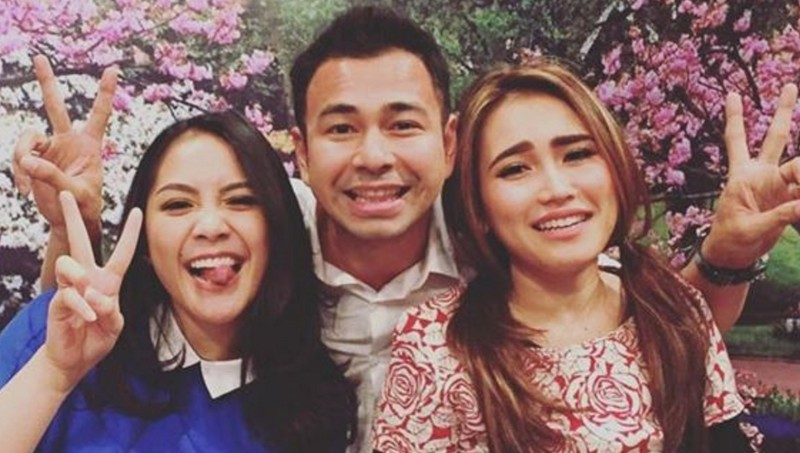 Raffi Ahmad, Ayu Ting Ting, dan Nagita Slavina