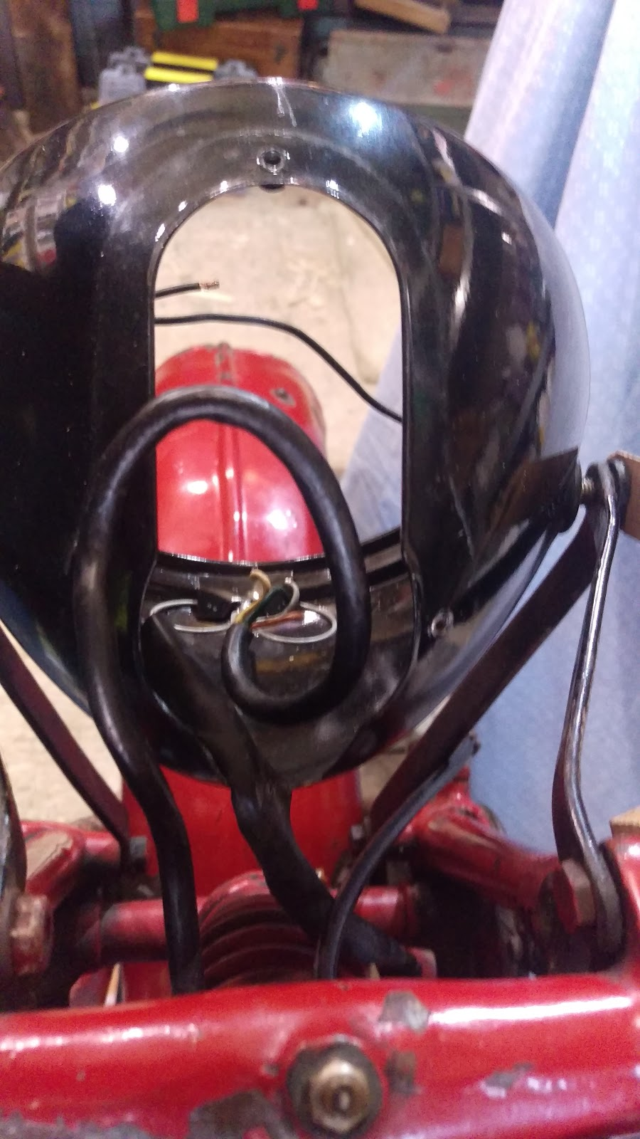 amelia squariel motorcycle wiringwe start by removing the lighting switch ammeter panel in the headlamp