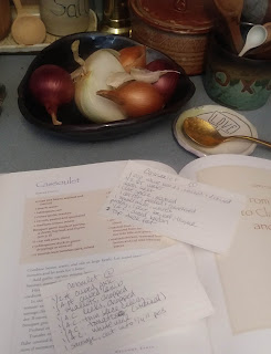 homemade tastes better on handmade, crazy green studios, winter reading, winter stews, #cook90, cassoulet, maya angelou, plan b