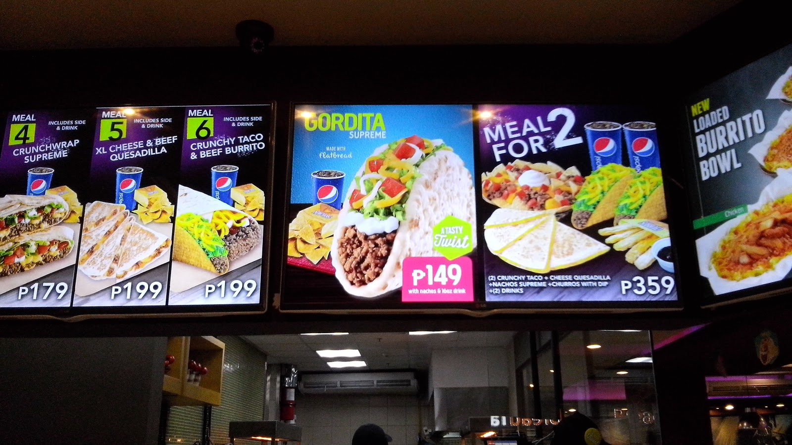 Pisceanrat Taco Bell Gordita Supreme Now In The Philippines