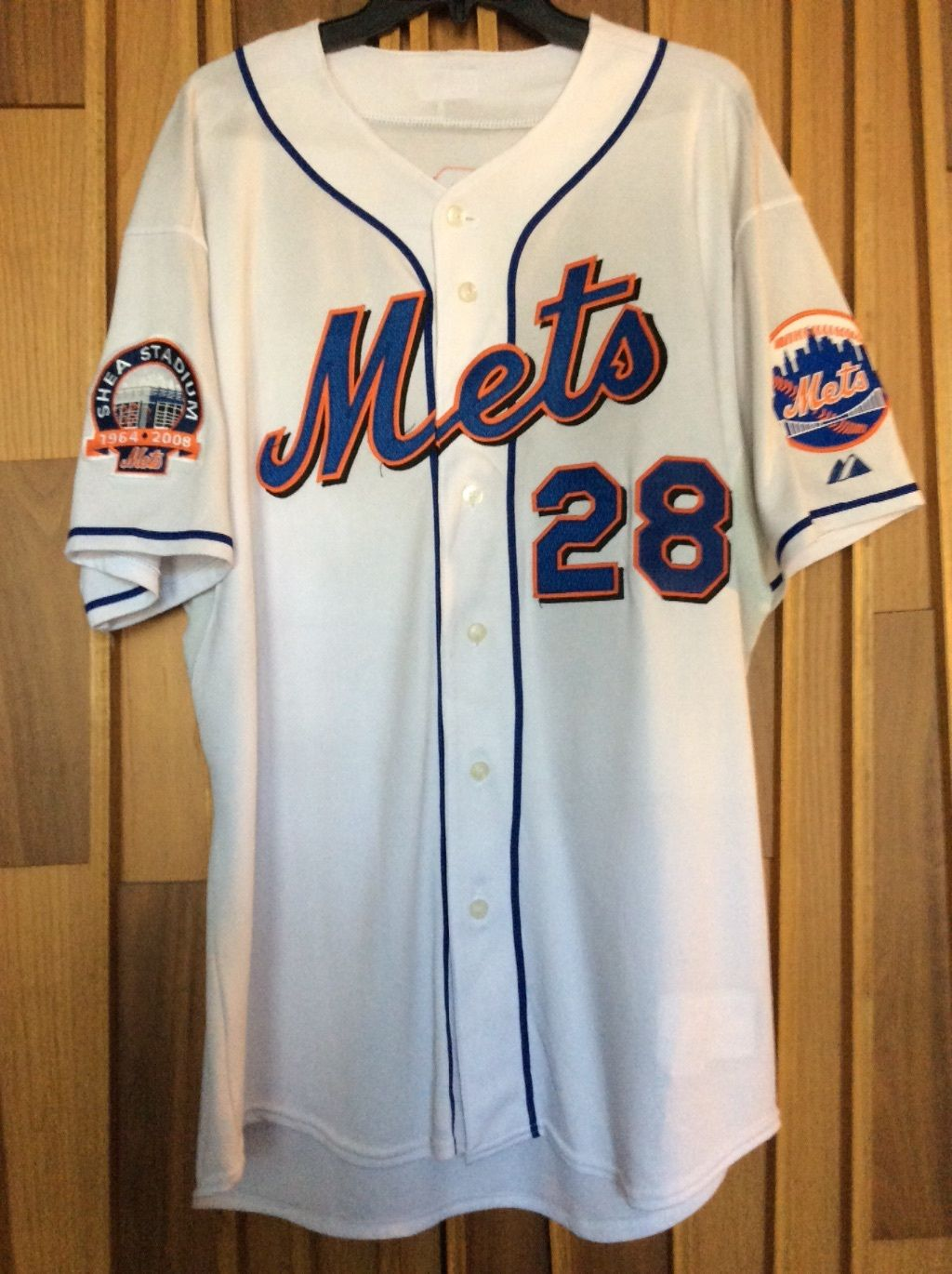 cheap for discount d0dfd b6fd0 TheMediagoon.com: Game Used:2008 New York Mets Game Used ...
