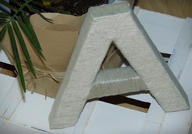 litera 3 d dekoracyjna