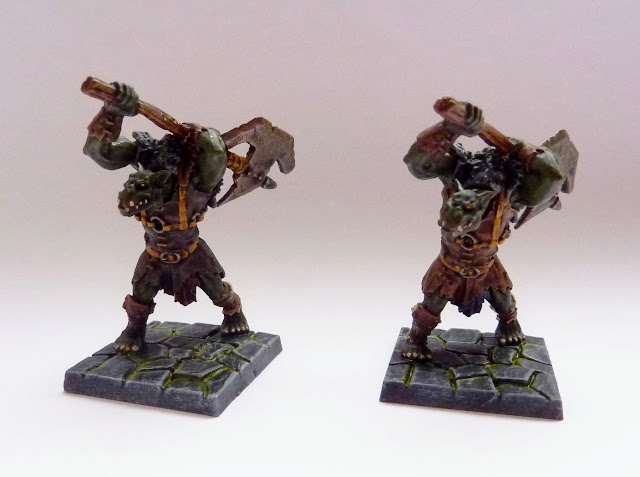 Orc Greatax - Warlord of Galahir expansion for Mantic's Dungeon Saga.