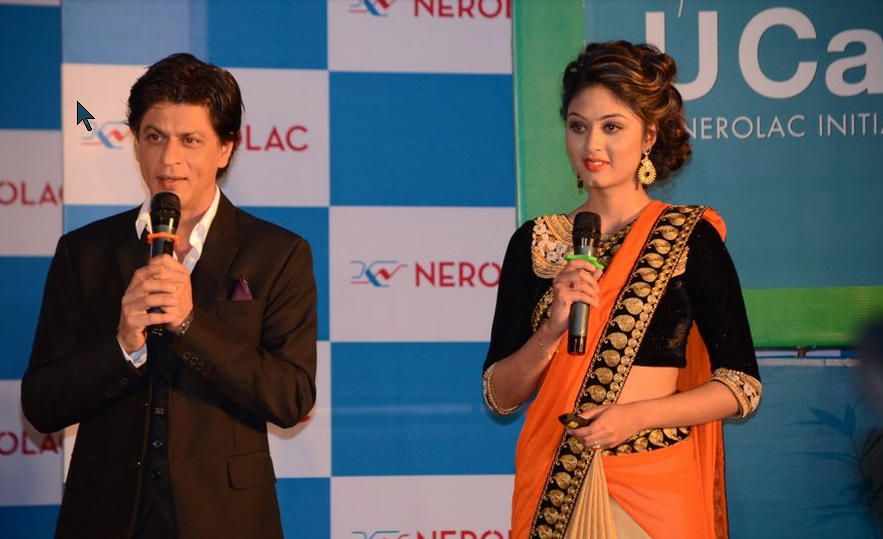 Shahrukh Khan and Akesha Bista