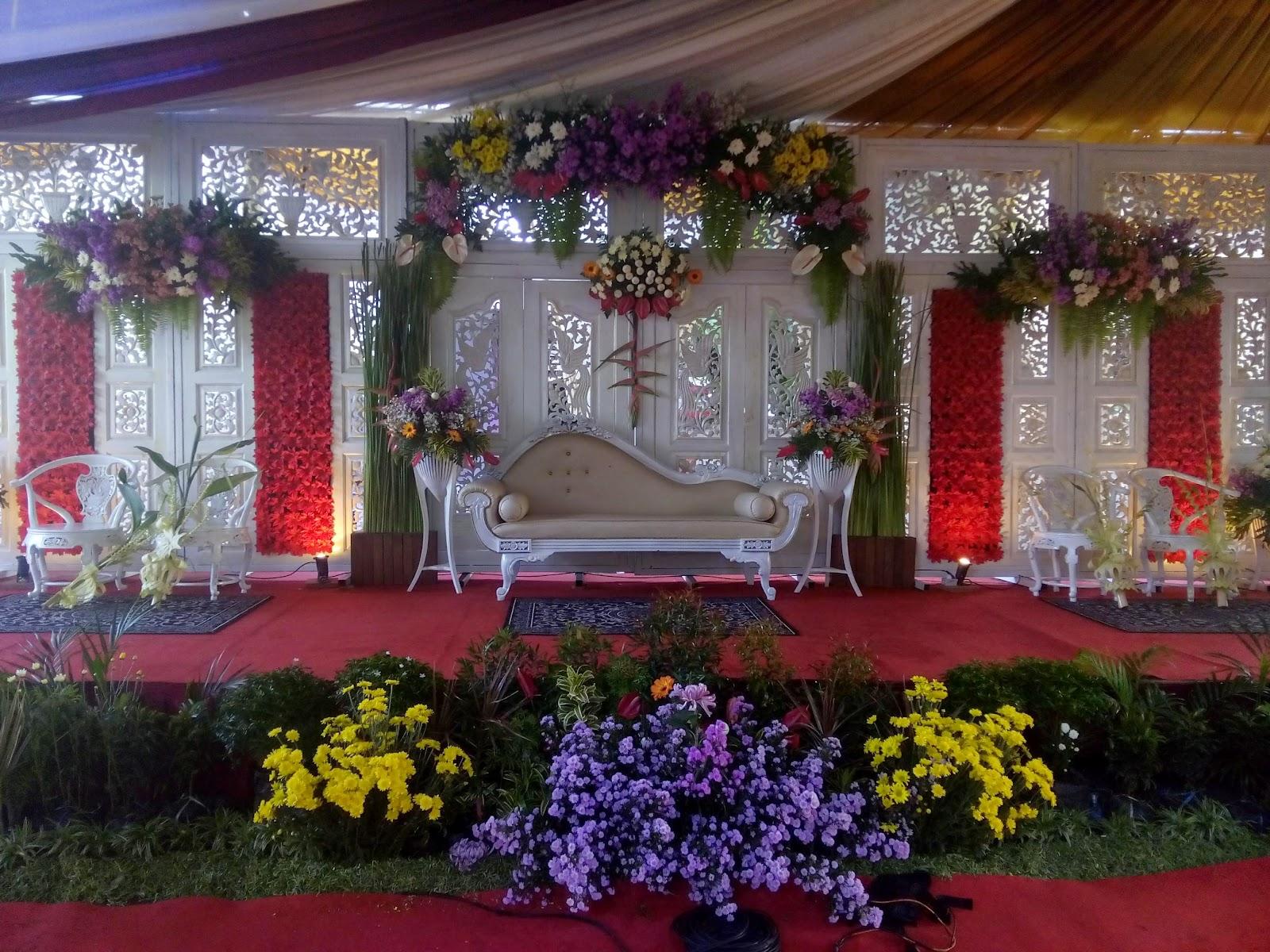 dekorasi pernikahan muslimah