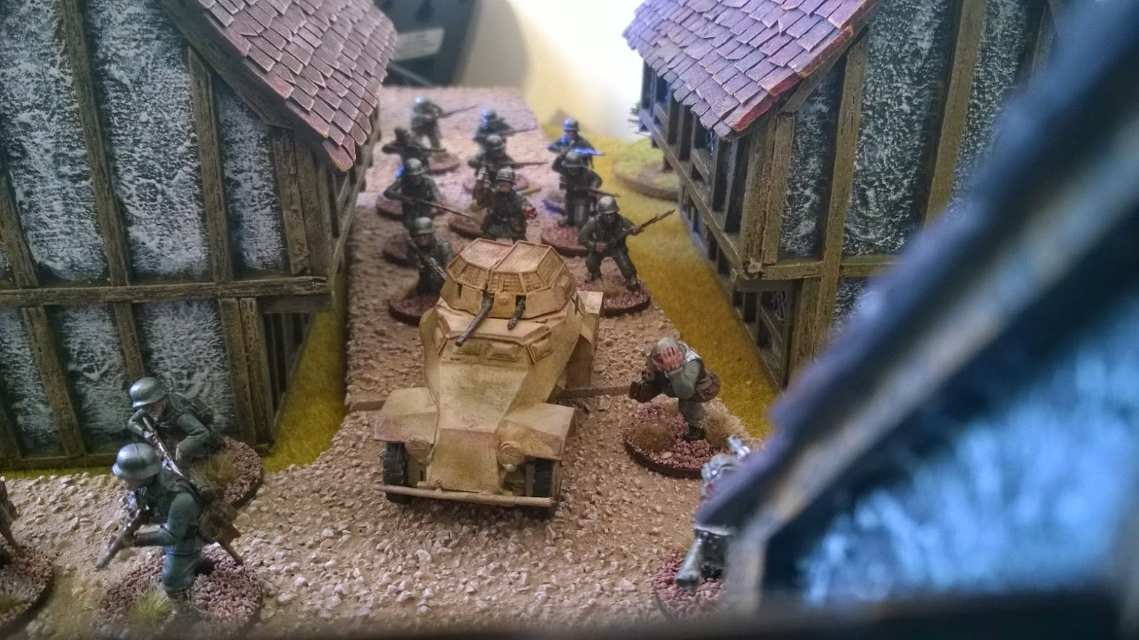 bolt action german infantry