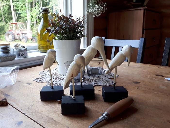 Tälja fåglar