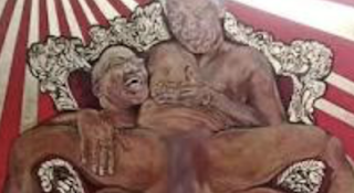 South Africa Painting Has Mandela, Zuma In Apparent Sex Act