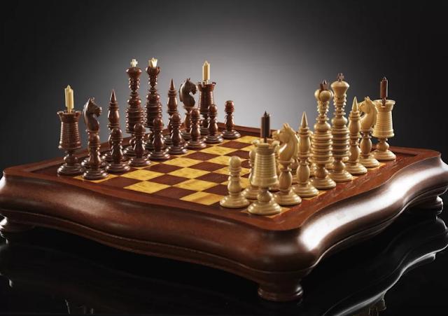 Шахматная доска: мастерим своими руками