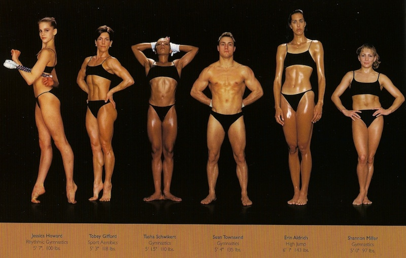 Photo from Athlete, by Howard Schatz and Beverly Ornstein