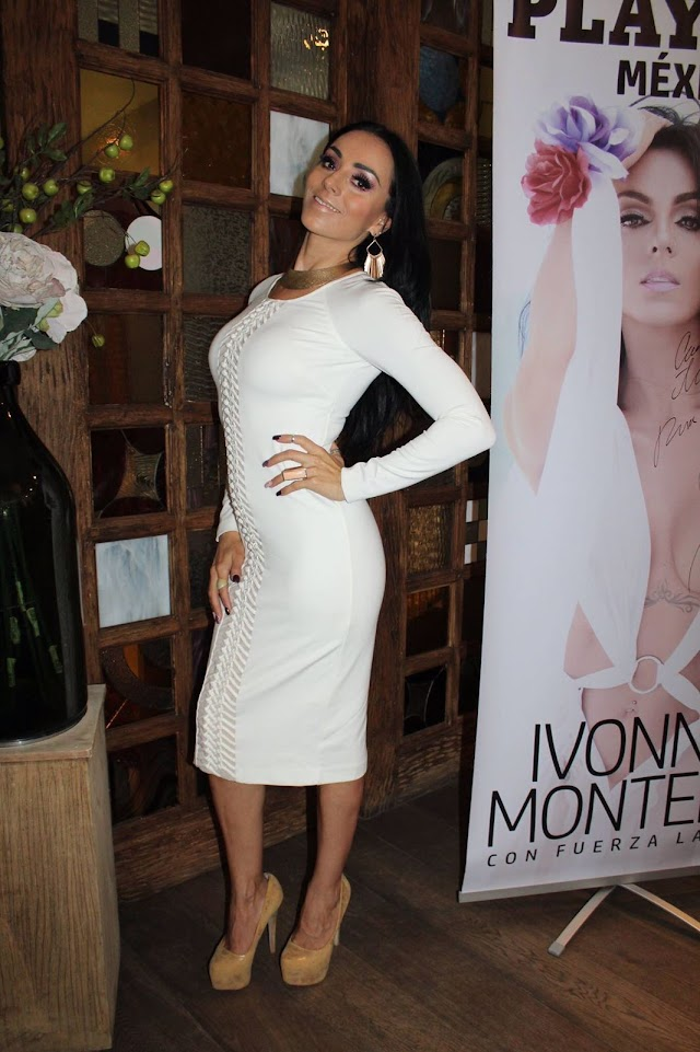 Ivonne Montero en PLAYBOY
