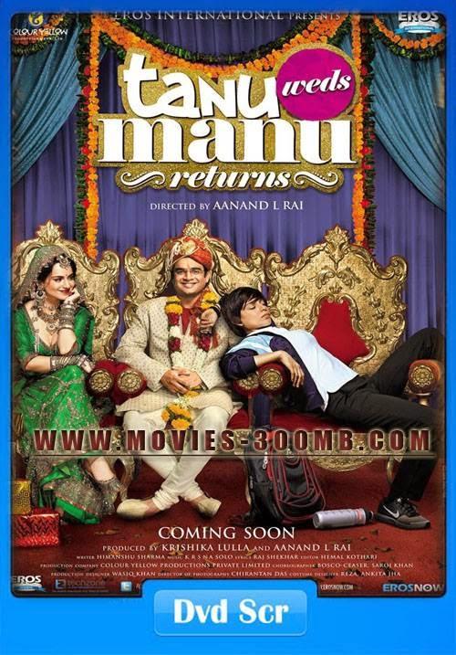 Tanu Weds Manu Returns 2015 300mb Poster