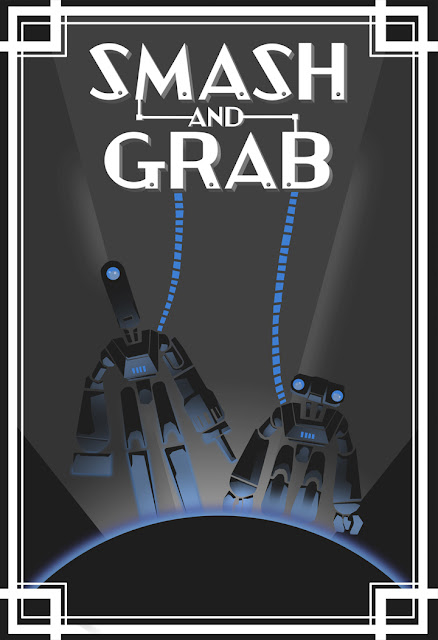 Pixar Smash and Grab Poster
