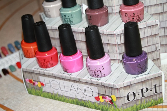 OPI printemps 2012 collection holland images photos swatch