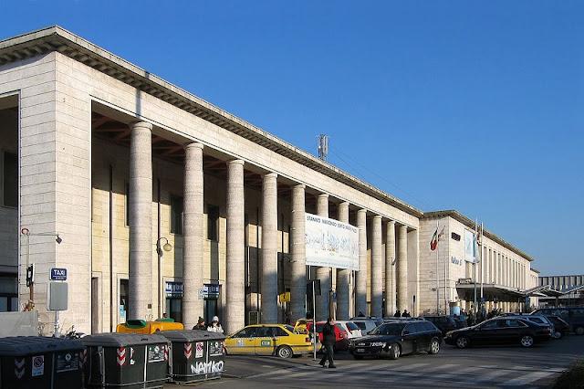 Estação central de Pádua na Itália