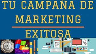 la campaña es donde se centran los objetivos y los propósitos de un blog o emprendimiento digital.