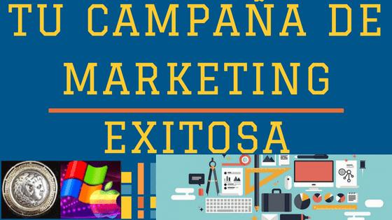 Marketing online: tu campaña exitosa