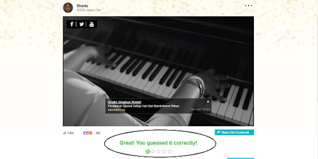 jawaban yang benar di situs Baymack