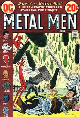 Metal Men #44, Rain of the Metal Men