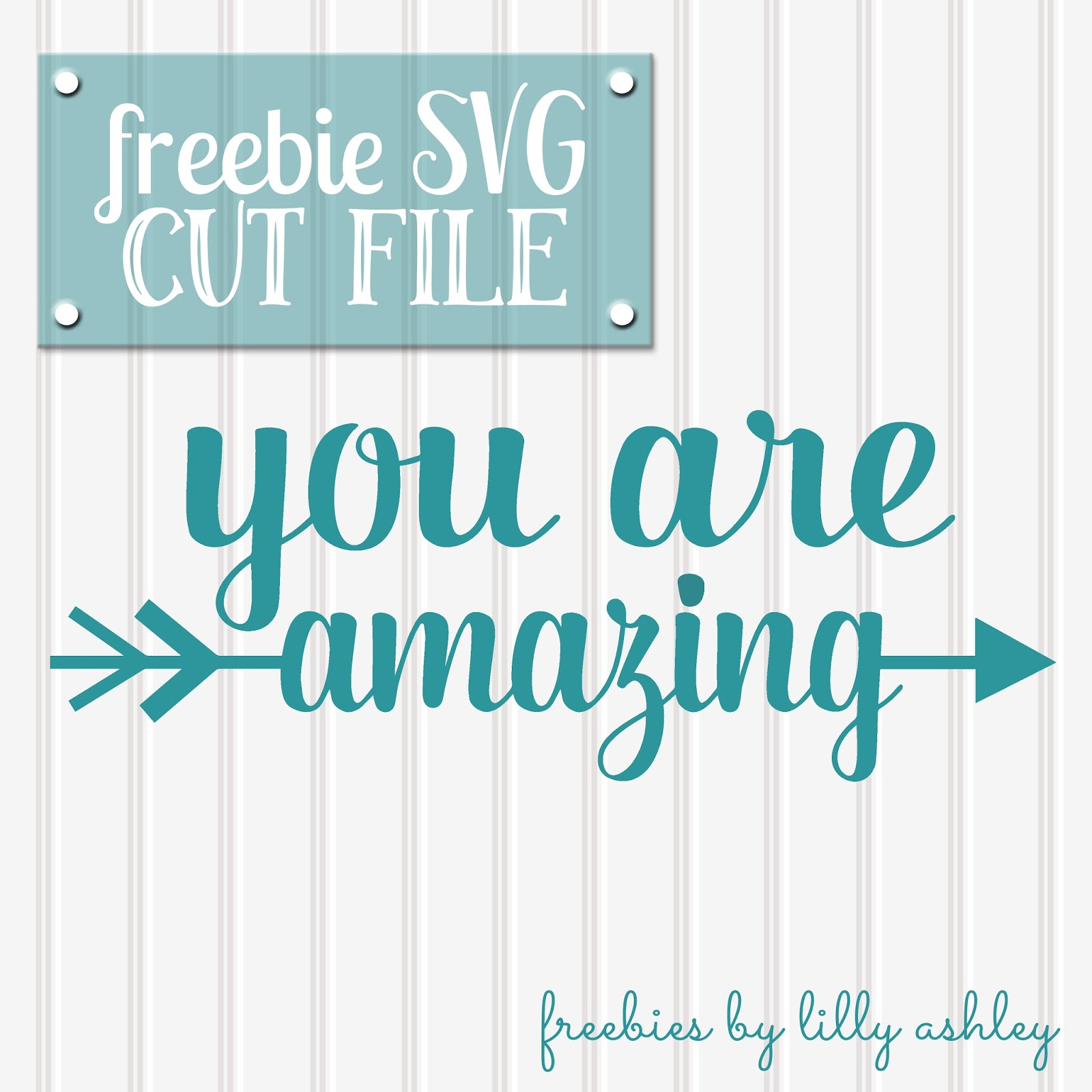 Amazing Svg: Make It Create By LillyAshley...Freebie Downloads: You Are