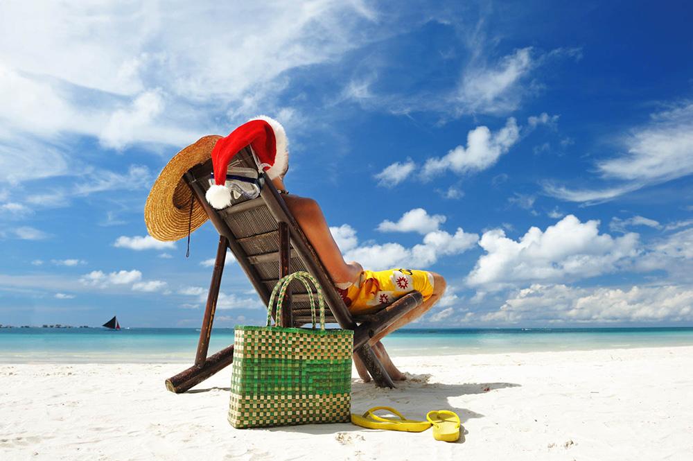 natale alle Maldive