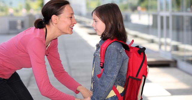 اليوم الاول لطفلك في المدرسة
