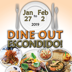 Don't Miss Dine Out Escondido! Restaurant Week This January 27 - February 2!
