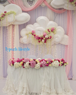 typearls wedding decoration