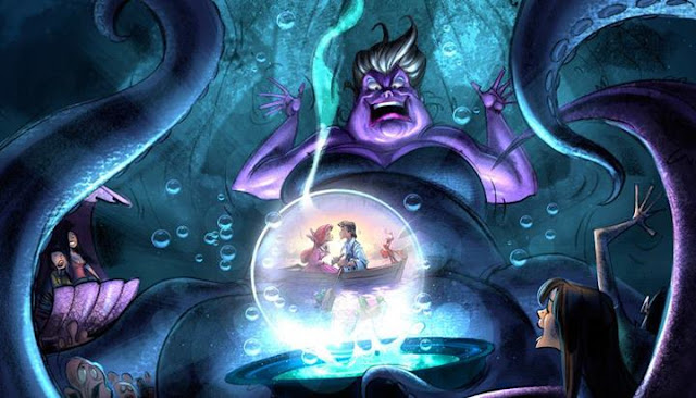 ursula mermaid disney