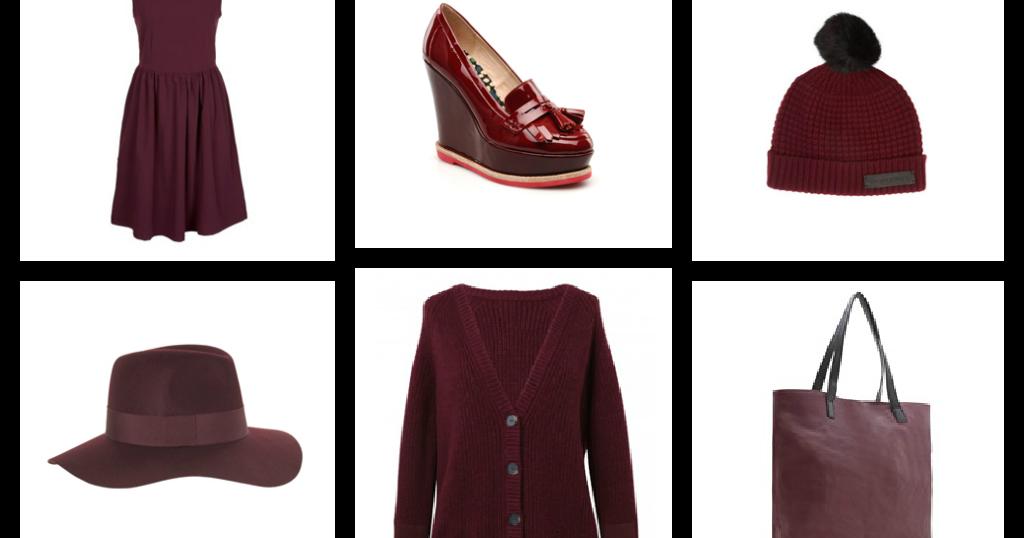 la fashion blogueuse rouge bordeaux ou lie de vin. Black Bedroom Furniture Sets. Home Design Ideas