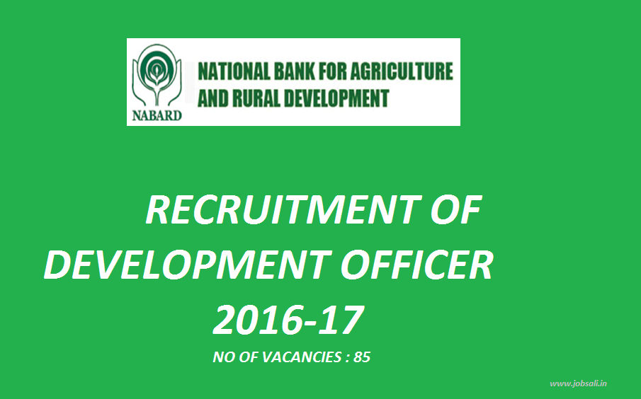 bank Jobs, Government Jobs, NABARD Vacancies