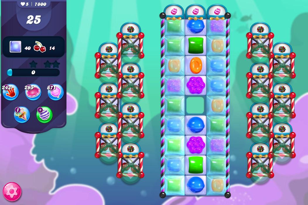 Candy Crush Saga level 7800