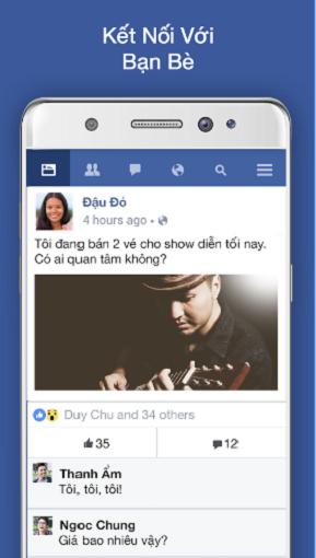Tải Facebook Lite cho điện thoại và máy tính bảng Android, Java, iOS b