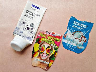 freeman dijamantska maska, 7th heaven maska za lice, freeman antistres maska