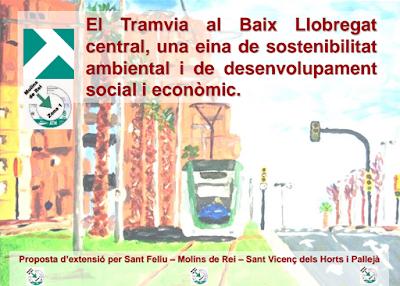 El Tramvia al Baix Llobregat central