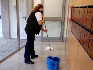 Limpieza en comunidades de vecinos