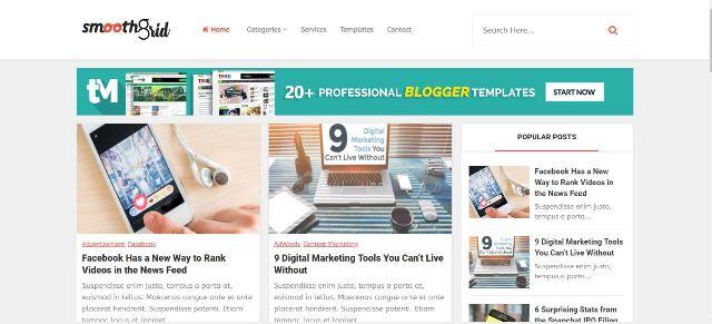 Top 5 SEO Friendly Blogger Templates 2018   Mr.Techno-Mind