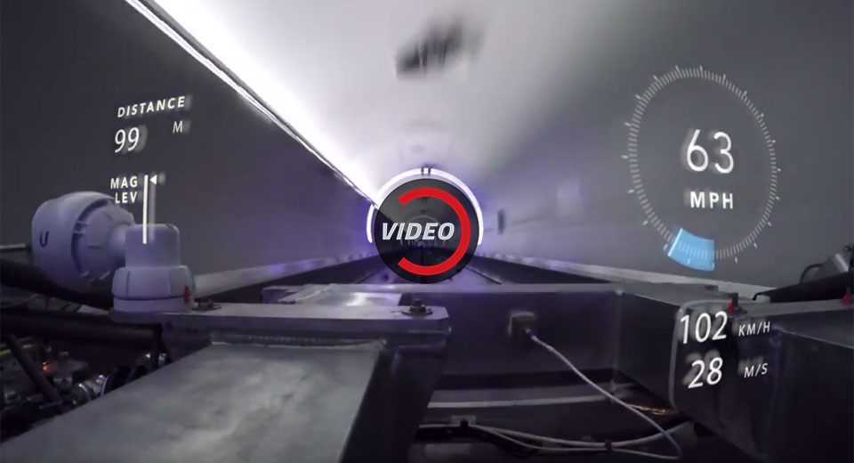 Hyperloop One runs test pod at 192mph