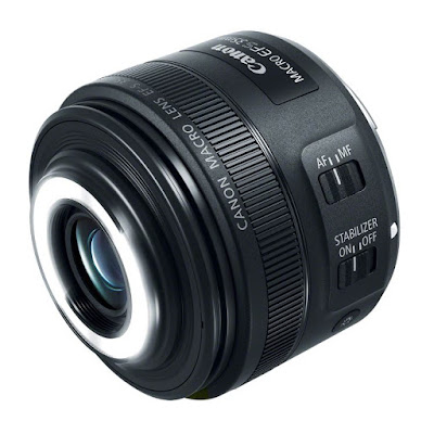New Canon EF-S 35MM F/2.8 Macro IS STM Lens