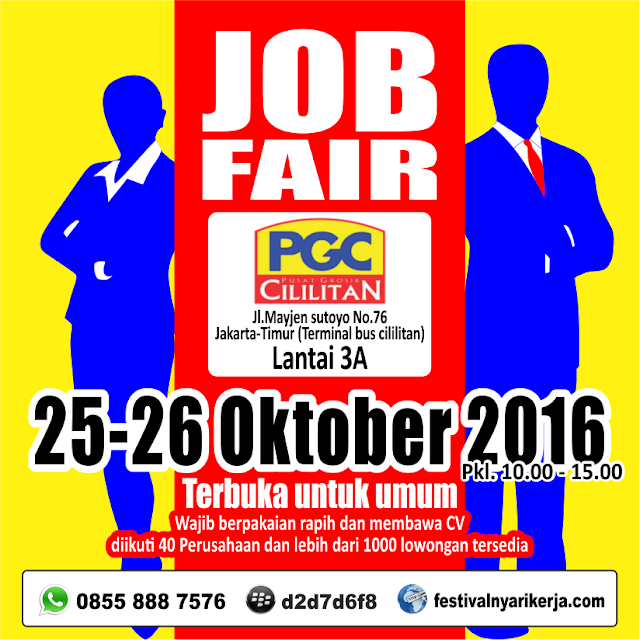 Job Fair  Cililitan - Mall PGC