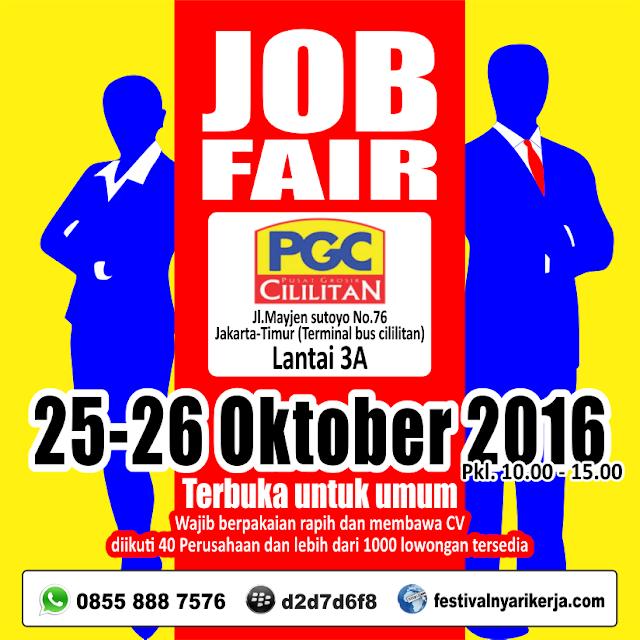 Job Fair  Cililitan - Mall PGC