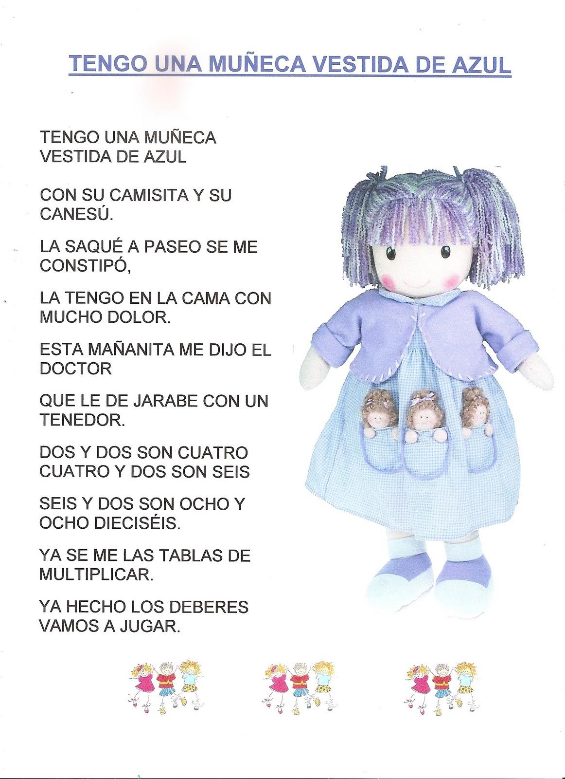 La Clase De Los Conejos Canción Tengo Una Muñeca Vestida