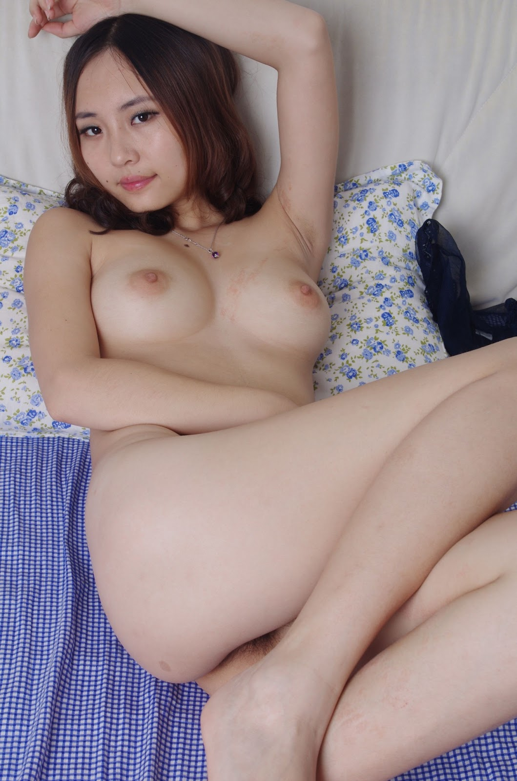 cute naked asian