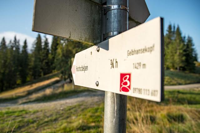 Wandertrilogie Allgäu  Etappe 43  Balderschwang - Grasgehren  Himmelsstürmer Route 06